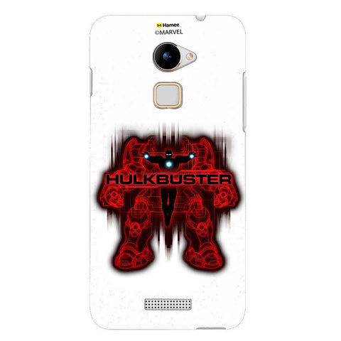 Hulk Buster Red Black  Coolpad Note 3 Lite Case Cover