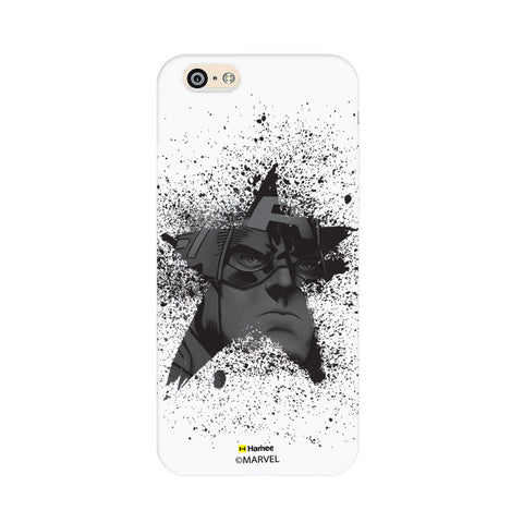 Captain America Black Star  iPhone 6 Plus / 6S Plus Case Cover