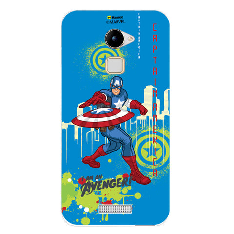 Captain America Full Splash  Coolpad Note 3 Lite Case Cover