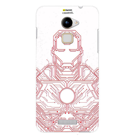 Iron Man Circuit  Coolpad Note 3 Lite Case Cover
