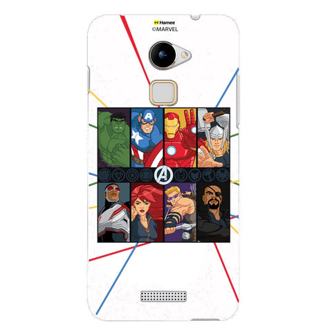 Avengers Faces  Coolpad Note 3 Lite Case Cover