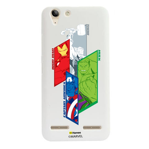 Avengers Strips  Lenovo A6000 Case Cover