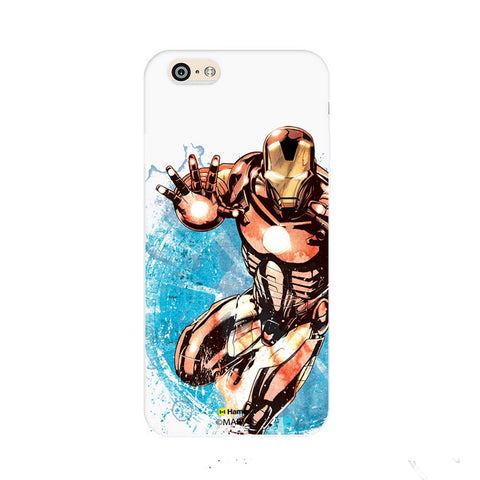 Iron Man Brush  Oppo F1 Case Cover