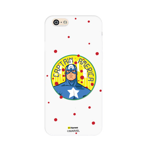 Captain America Paint Drops  Oppo F1 Case Cover
