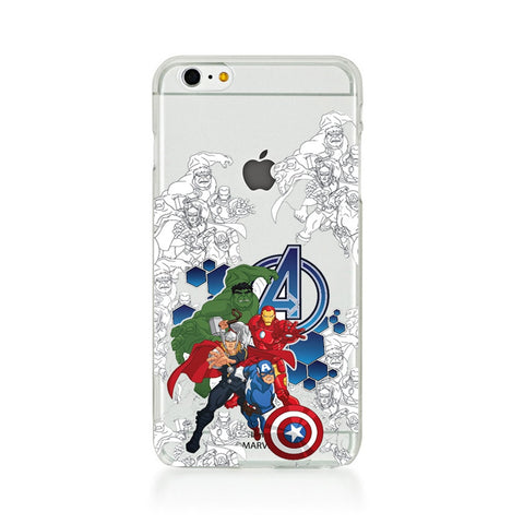 Avengers Group Sketch  iPhone 6 Plus / 6S Plus Case Cover