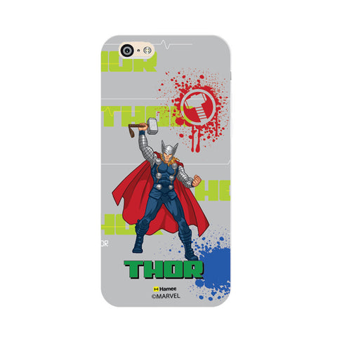 Thor Gray Splash  iPhone 6 Plus / 6S Plus Case Cover