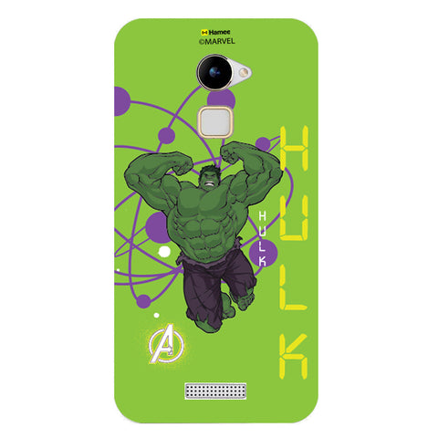 Hulk Full Green  Coolpad Note 3 Lite Case Cover