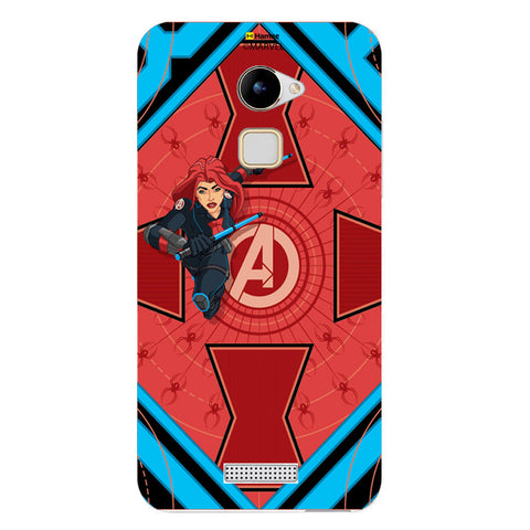 Black Widow Red  Coolpad Note 3 Case Cover