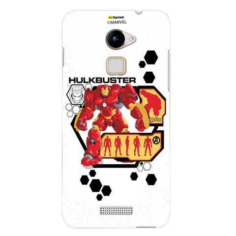 Hulk Buster Hexagon  Coolpad Note 3 Lite Case Cover