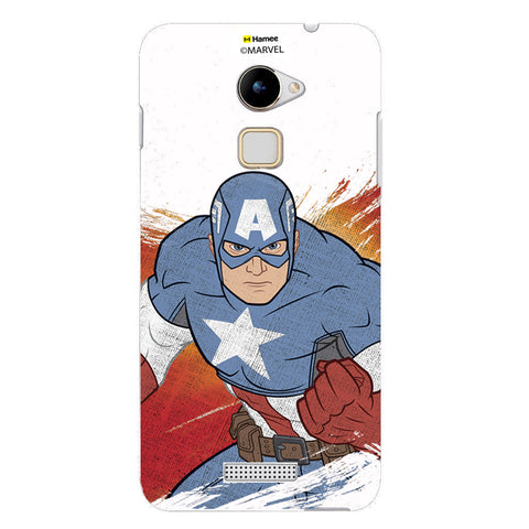 Captain America Fade  Coolpad Note 3 Lite Case Cover