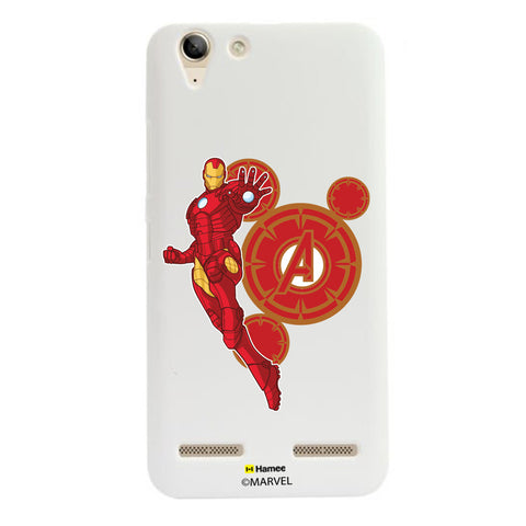 Iron Man Red Circles  Lenovo A6000 Case Cover