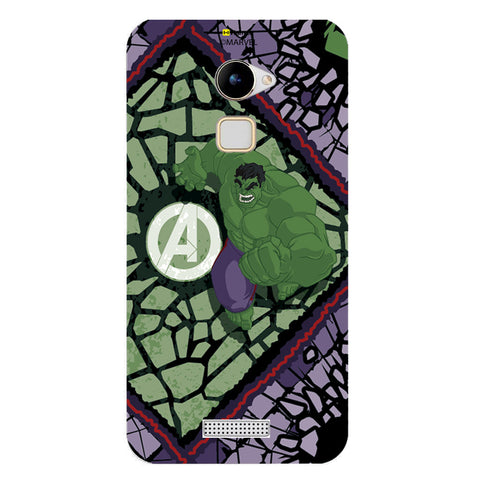 Hulk Green  Coolpad Note 3 Lite Case Cover
