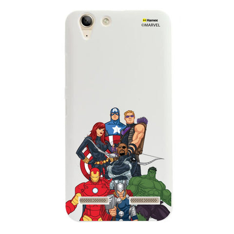 Avengers Group Bottom  Lenovo A6000 Case Cover