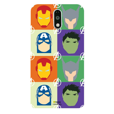 Avengers Group Paint  Moto G4 Plus Case Cover