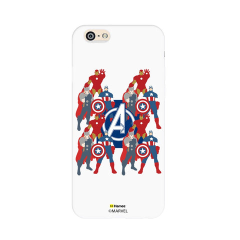 Avengers With Logo Paint  iPhone 6S/6 Case Cover