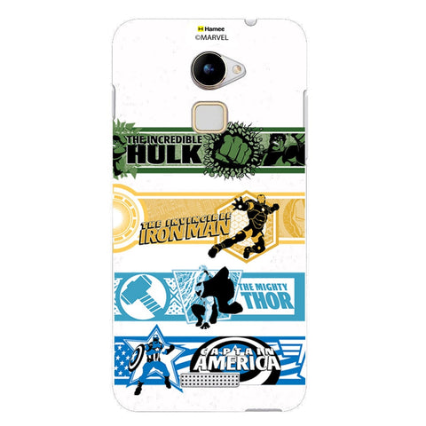 Avengers Border  Coolpad Note 3 Lite Case Cover