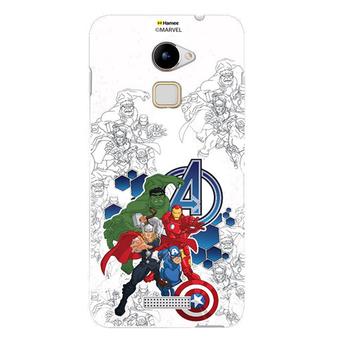 Avengers Group Sketch  Coolpad Note 3 Lite Case Cover