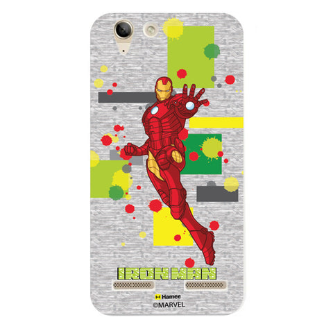 Iron Man Splash  Lenovo A6000 Case Cover