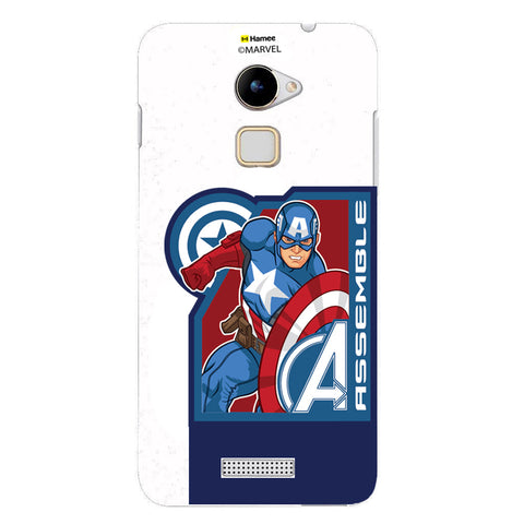 Captain America Corner Blue  Coolpad Note 3 Lite Case Cover