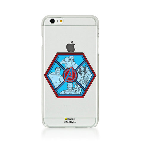 Avengers Hexagon  iPhone 5S/5 Case Cover