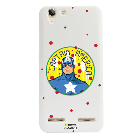 Captain America Paint Drops  Lenovo A6000 Case Cover