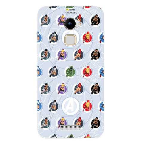 Avengers Logo Mini  Coolpad Note 3 Lite Case Cover