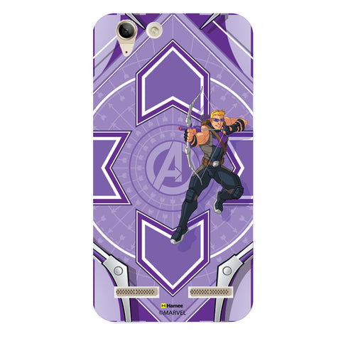 Hawk Eye Purple  Lenovo A6000 Case Cover