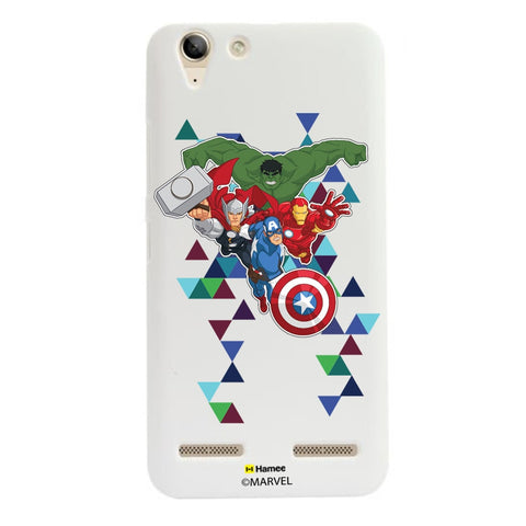 Avengers Triangles  Lenovo A6000 Case Cover
