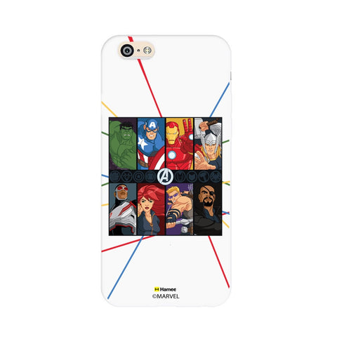 Avengers Faces  iPhone 6S/6 Case Cover