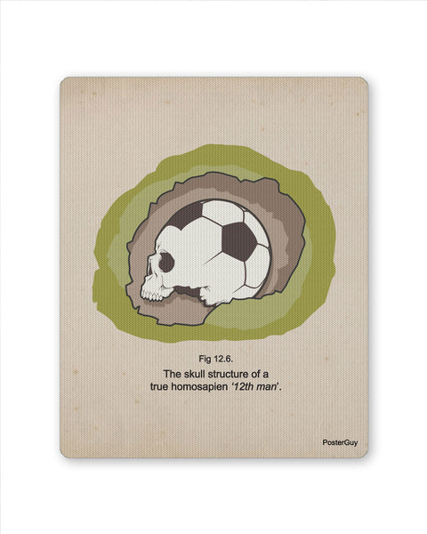 Mouse Pads | Archeological Football Mouse Pad Online India | PosterGuy.in