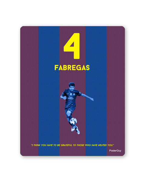 Mouse Pads | Fabregas Football Mouse Pad Online India | PosterGuy.in