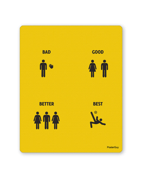 Mouse Pads | The Good, Better and Best Mouse Pad Online India | PosterGuy.in