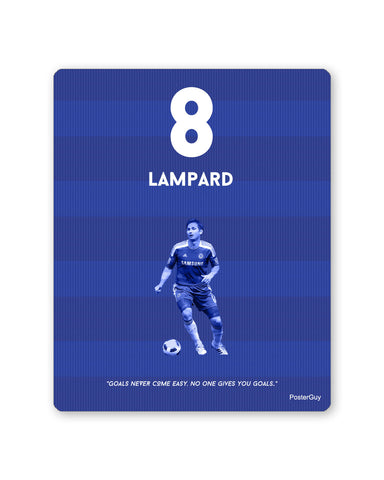 Mouse Pads | Lampard Football Mouse Pad Online India | PosterGuy.in
