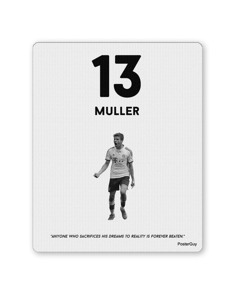 Mouse Pads | Muller Football Mouse Pad Online India | PosterGuy.in