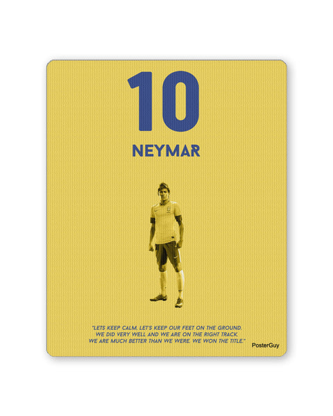Mouse Pads | Neymar Football Mouse Pad Online India | PosterGuy.in