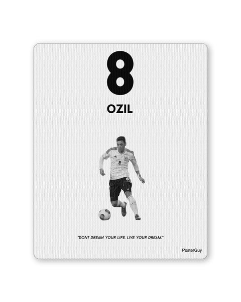 Mouse Pads | Ozil Football Mouse Pad Online India | PosterGuy.in