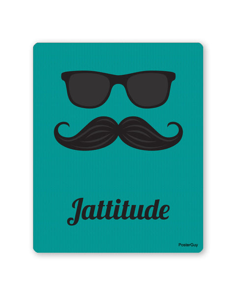 Mouse Pads | Jattitude Blue Coloured Gaming Mouse Pad Online India | PosterGuy.in