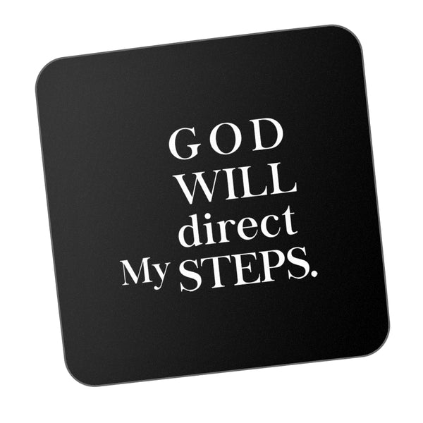 God Will Direct My Steps Motivational Coaster Online India