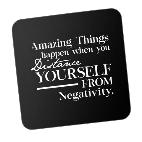 Distance Yourself From Negativity Motivational Coaster Online India
