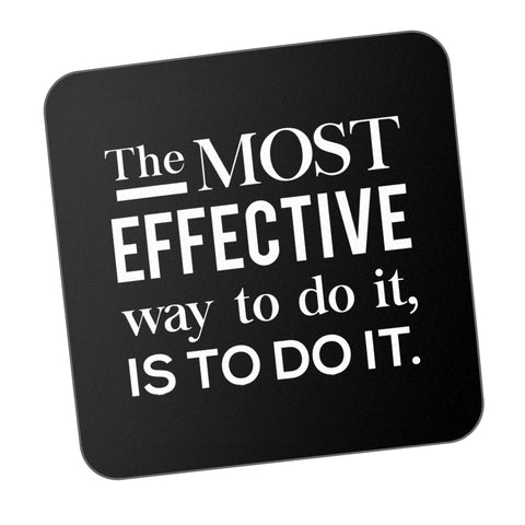 Most Effective Way Is Do It Motivational Coaster Online India