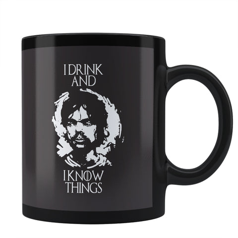 I Drink And I Know Things  Tyrion Lannister Coffee Mug Online India