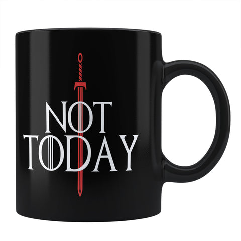 What Do We Say To The God Of Death Not Today - Arya Stark Coffee Mug Online India