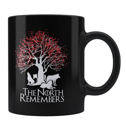 The North Remembers - House Stark Game Of Thrones Coffee Mug Online India