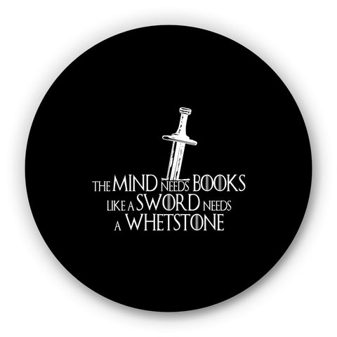 Mind Needs Books Like A Sward Needs Wherstone - Tyrion Lannister Game Of Thrones Fridge Magnet Online India
