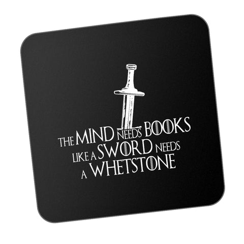 Mind Needs Books Like A Sward Needs Wherstone - Tyrion Lannister Game Of Thrones Coaster Online India