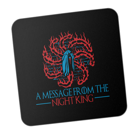 A Message From The Night King Game Of Thrones White Walkers Army Of The Dead Coaster Online India