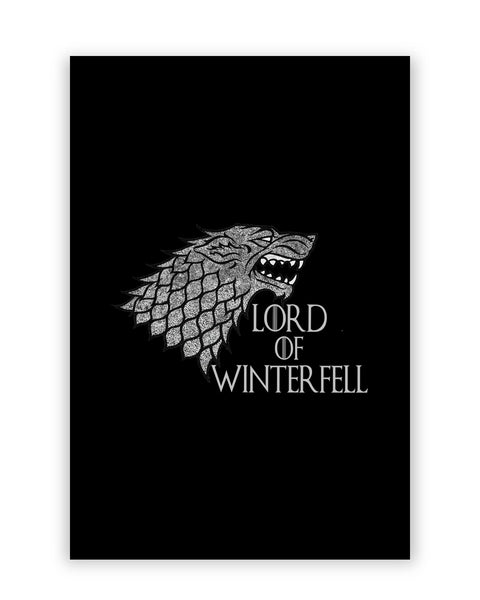 Lord Of Winterfell House Stark Game Of Thrones Poster Online India
