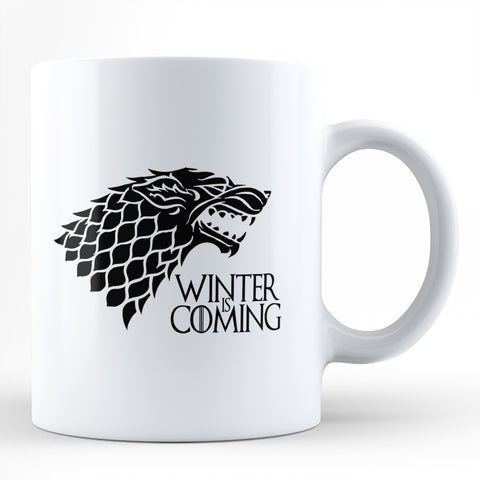 Winter Is Coming - House Stark Coffee Mug Online India