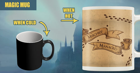 Mischief Managed Color Changing Magic Mug