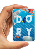 Livtel x Hamee Disney Pixar Licensed Finding Dory 5000 mAh PowerBank with LED indicators and Reversible Micro-USB cable (Dory / Name)